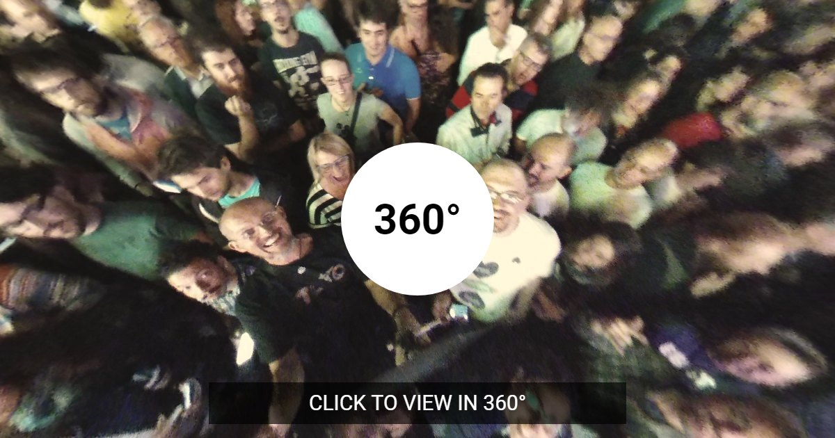 Fave a 360° a 45°N
